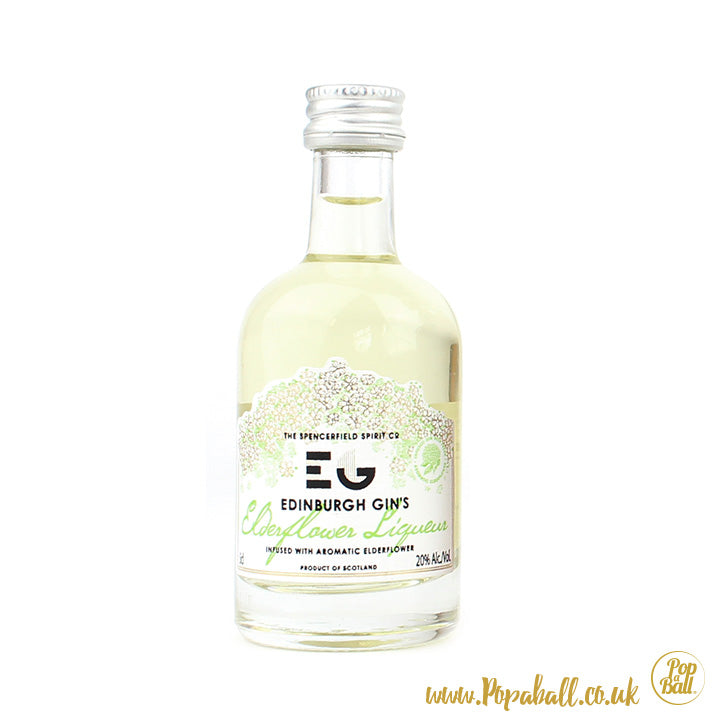 Elderflower Edinburgh Gin Liqueur