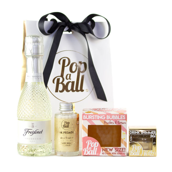 Pimp your Prosecco gift set with fizz and bubbles