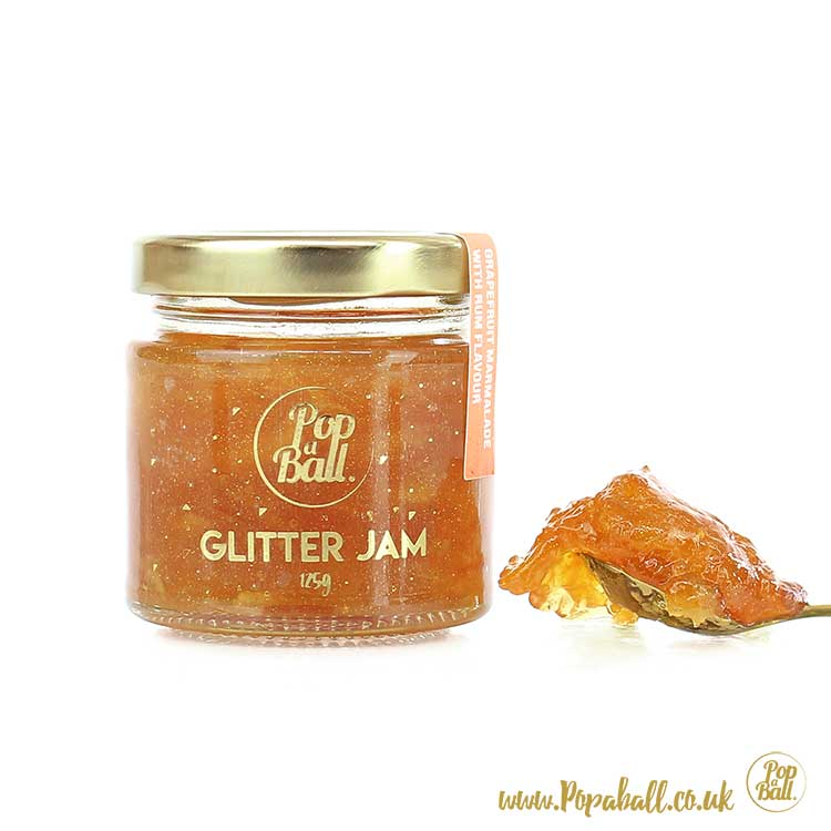 Grapefruit Glitter Preserve with Rum Flavouring