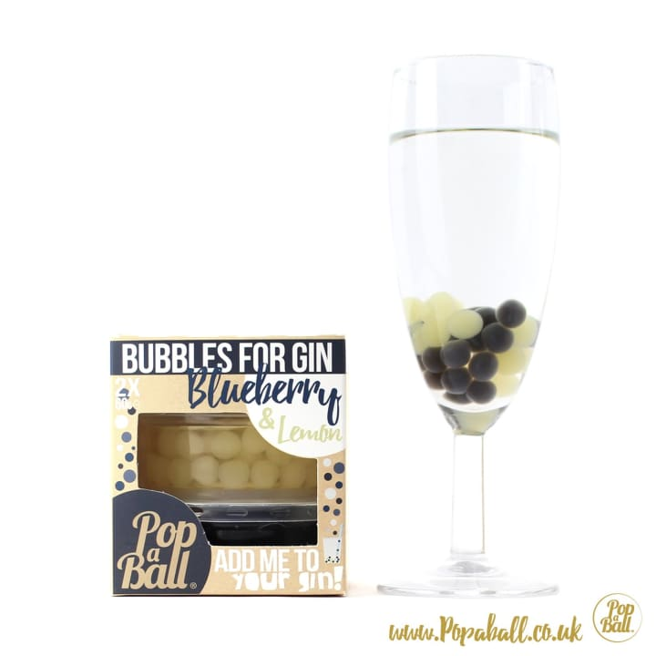 Bubbles For Gin - Bursting Bubbles