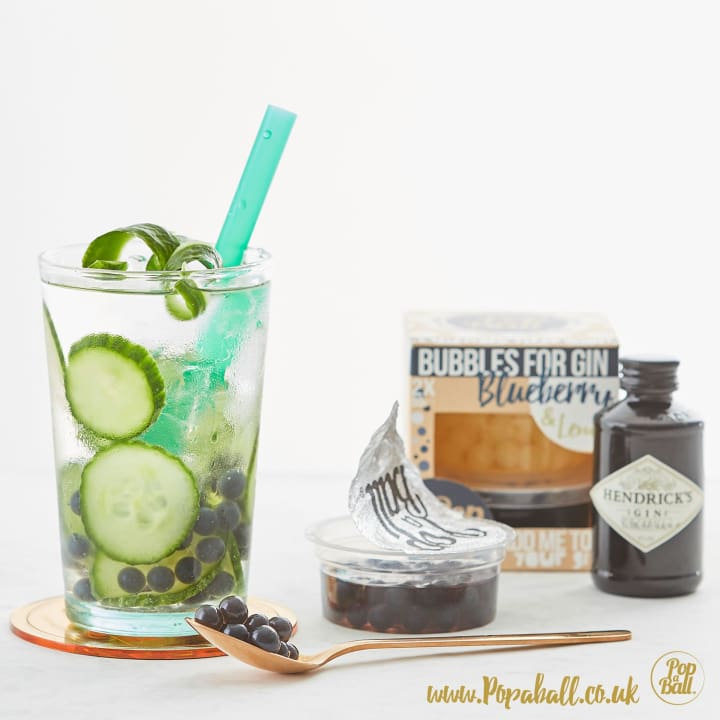 Bubbles For Gin With Gin Gift Set - Gin And Bubbles