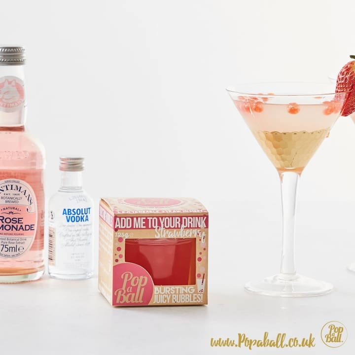 Bubbles With Vodka And Mixer Gift Set - Spirits