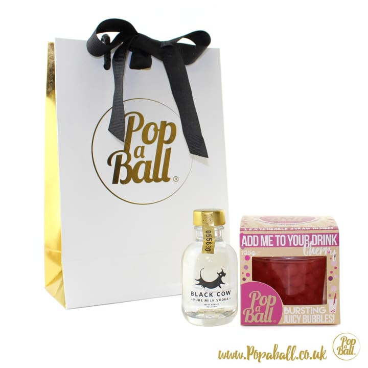 Bubbles With Vodka Gift Set - Spirits