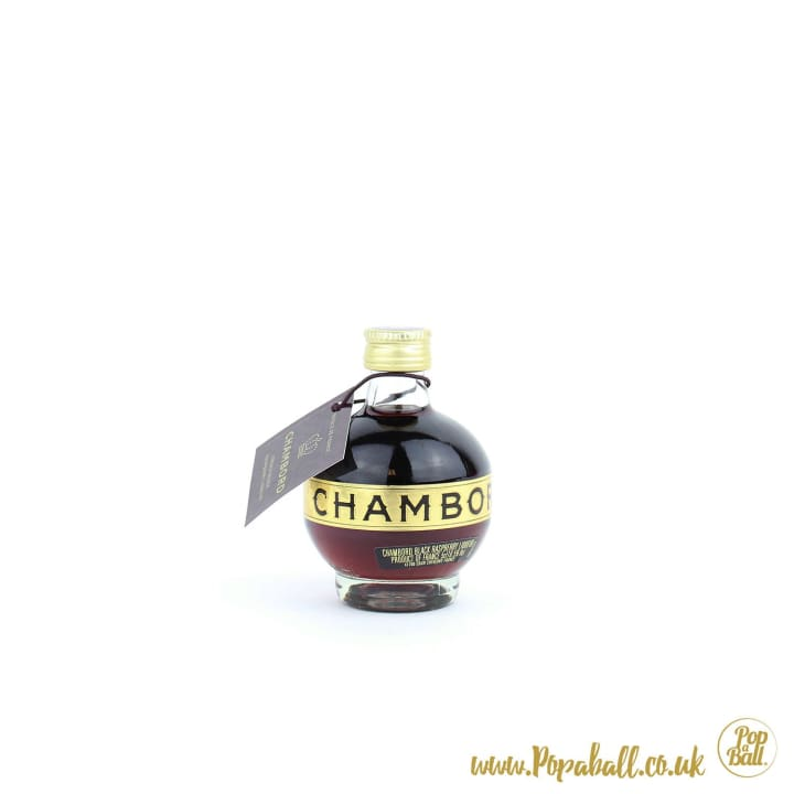 Chambord Mini With Shimmer Bubbles Gift Set - Fizz