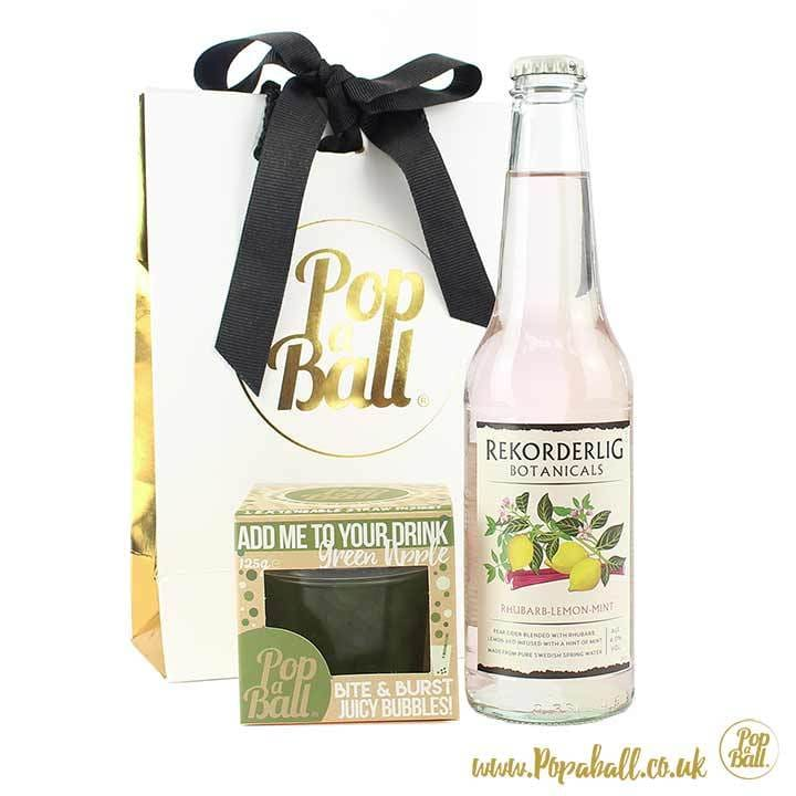 Cider Gift Set With Bubbles - Cider