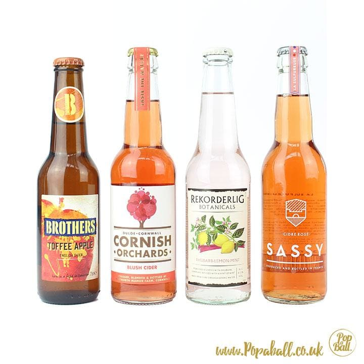 Cider Gift Set With Shimmer Bubbles - Cider