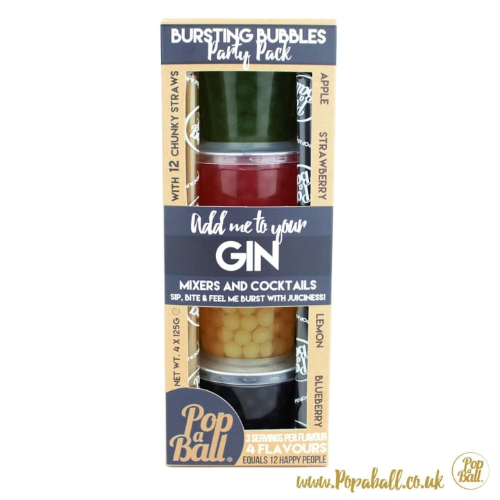 Gin Party Pack - Bursting Bubbles