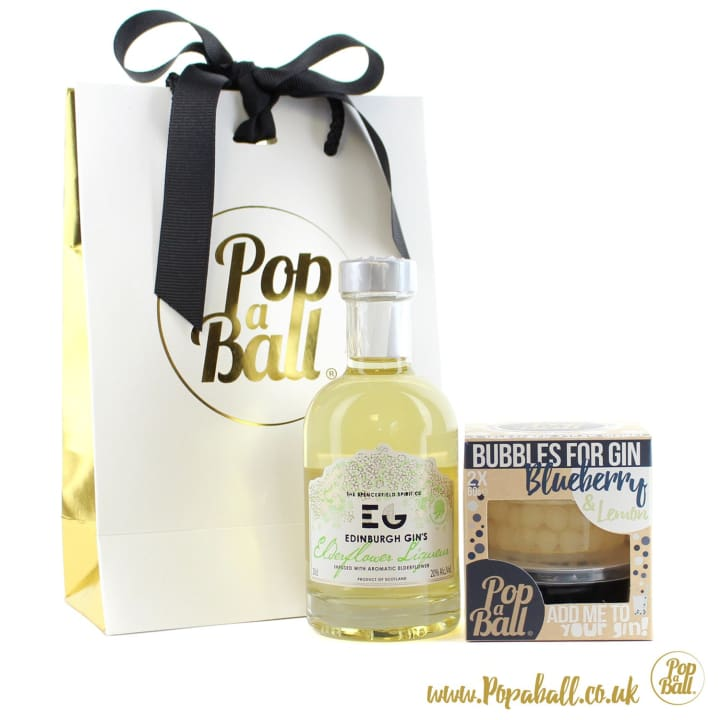 Large Pimp Your Gin Gift Set With Bubbles For Gin - Gin And Bubbles