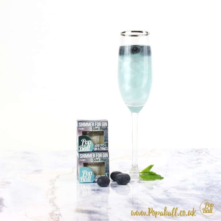 Large Pimp Your Prosecco Set With Bubbles For Prosecco - Fizz