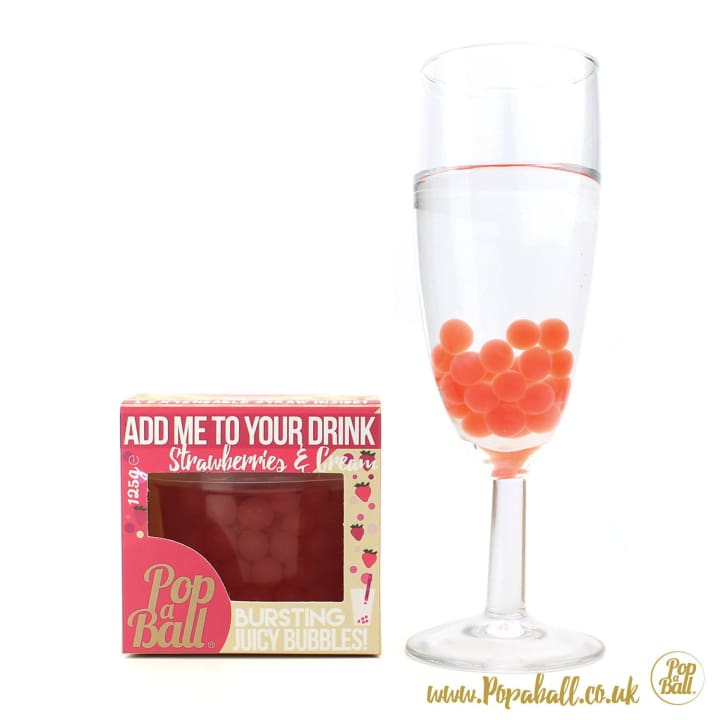 Limited Edition Strawberries & Cream Bursting Bubbles - Bursting Bubbles