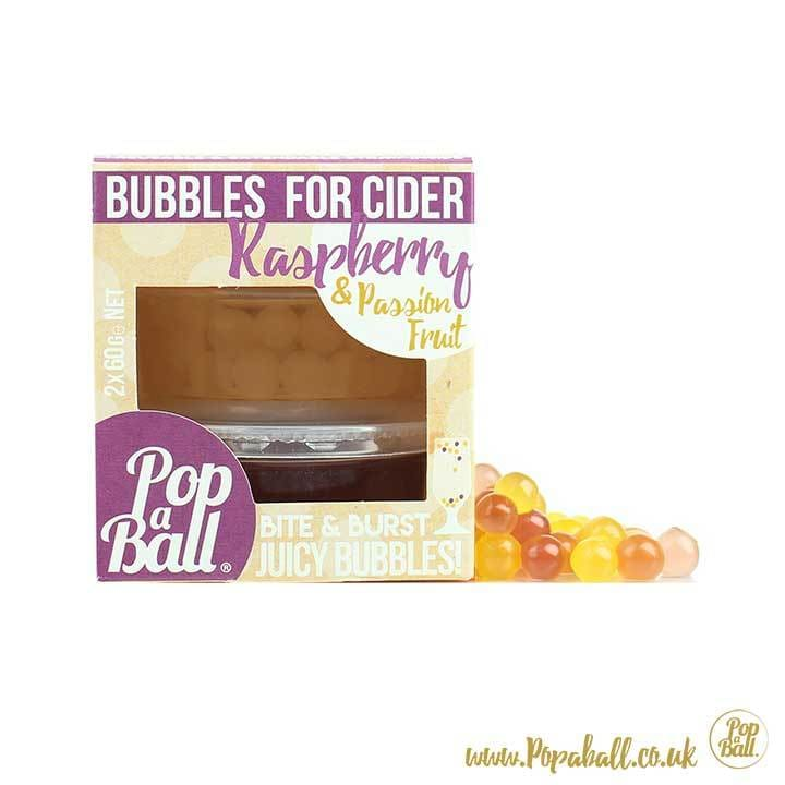 New! Bubbles For Cider - Bursting Bubbles