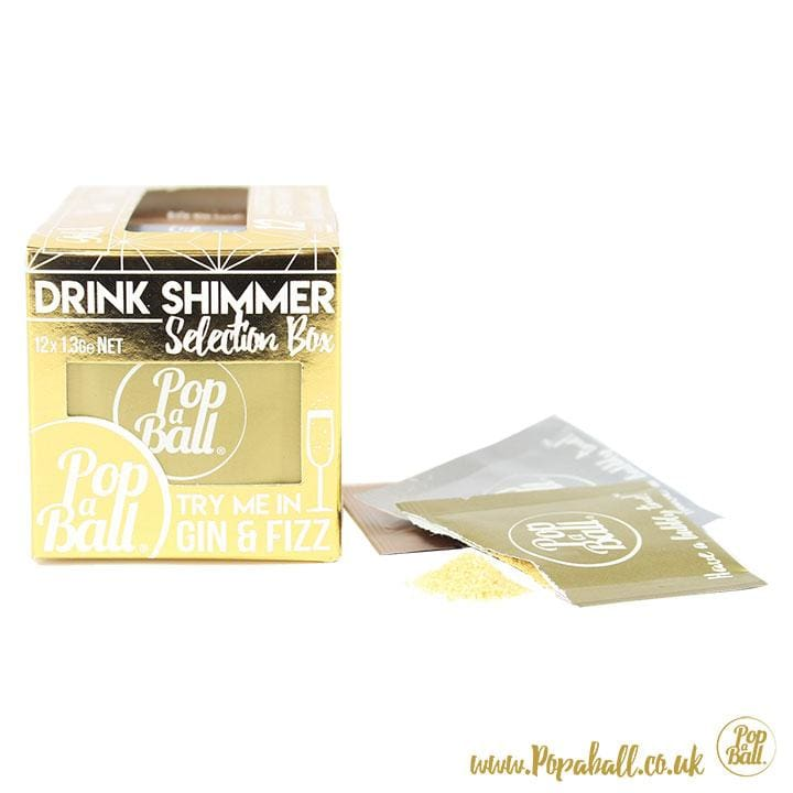 New! Drink Shimmer Selection Box - Bursting Bubbles