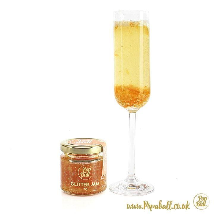 New! Grapefruit Glitter Marmalade With Rum Flavour - Bursting Bubbles