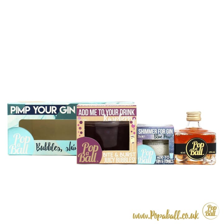 Pimp Your Gin Gift Box - Gin And Bubbles