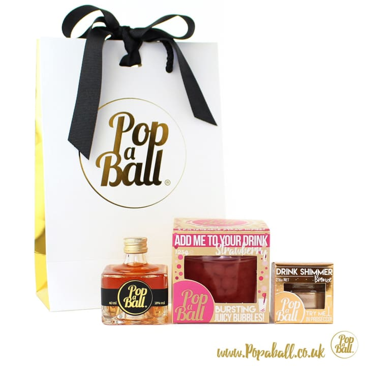Pimp Your Gin Gift Set With Bubbles - Gin And Bubbles