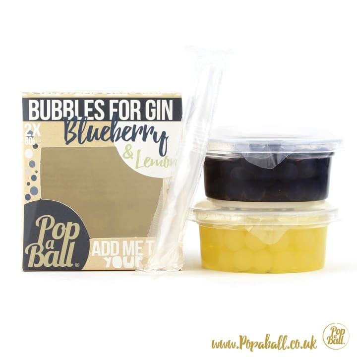 Pimp Your Gin Set With Bubbles For Gin - Gin And Bubbles