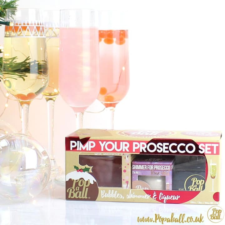 Pimp Your Prosecco Christmas Gift Box - Fizz