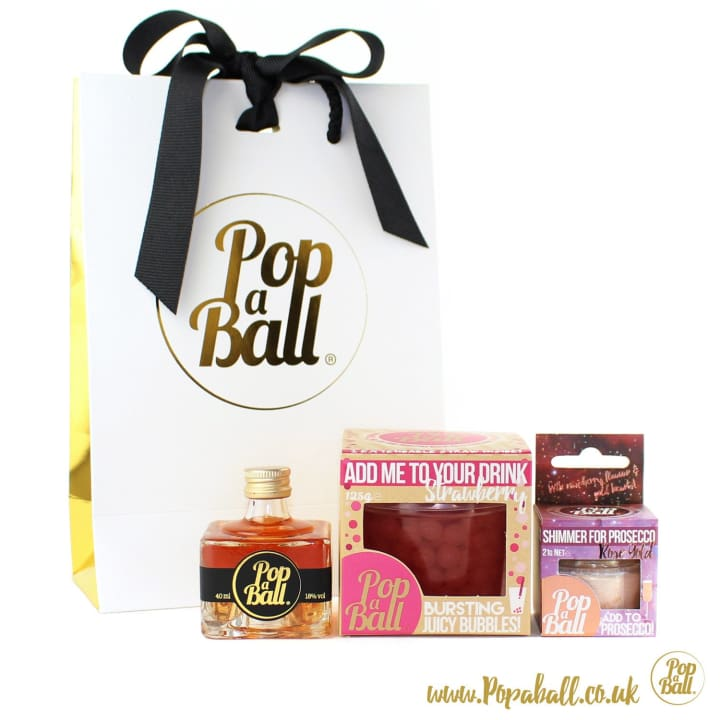 Pimp Your Prosecco Gift Set With Bubbles - Fizz