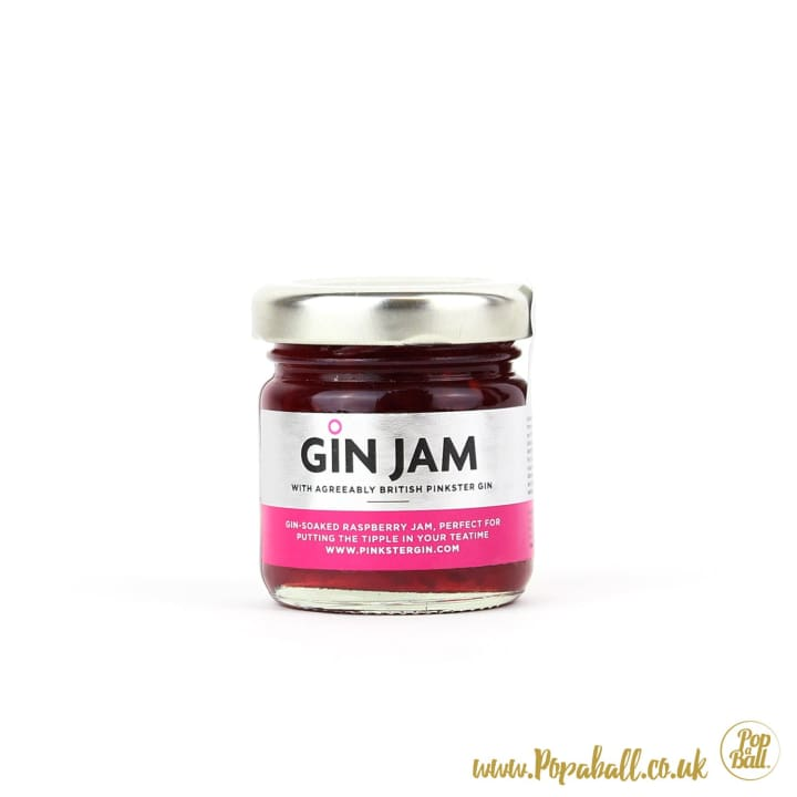 Pinkster Gin Jam Mini - Bursting Bubbles