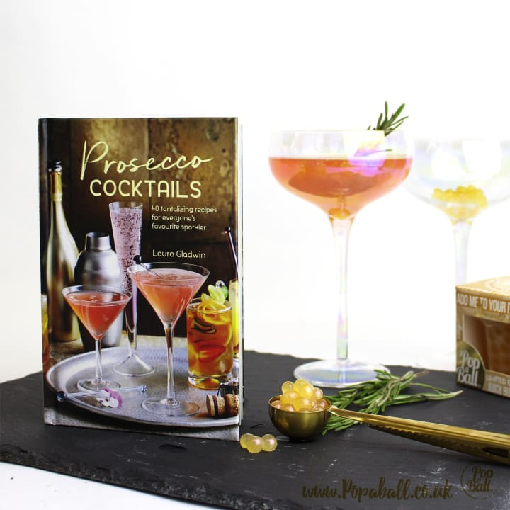 Prosecco Cocktails Book By Laura Gladwin Popaball