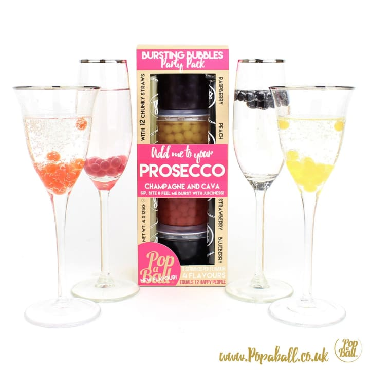 Prosecco Party Pack - Bursting Bubbles
