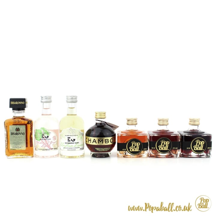 Shimmer Bubbles With Fizz And Liqueur Gift Set - Fizz