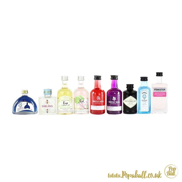 Shimmer Bubbles With Gin Gift Set - Gin And Bubbles