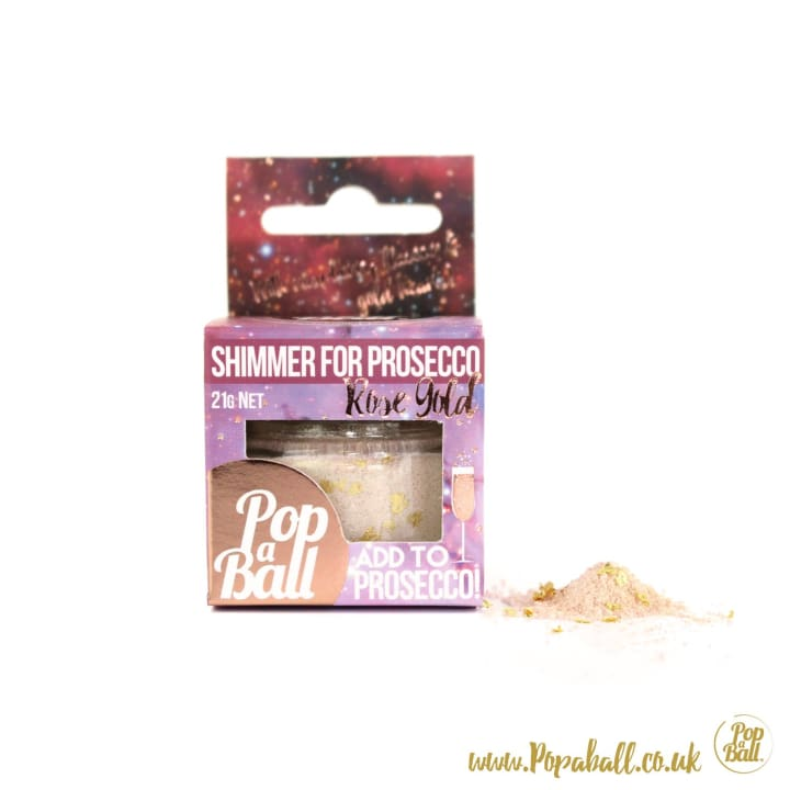 Shimmer For Gin + Shimmer For Prosecco Set - Bursting Bubbles