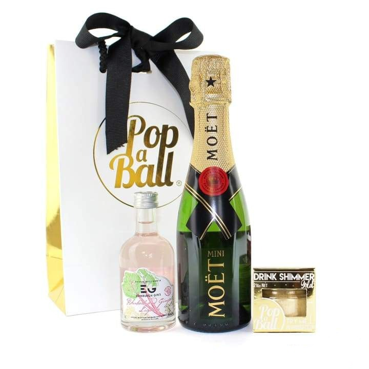 Shimmer For Prosecco With Fizz And Liqueur Gift Set - Fizz
