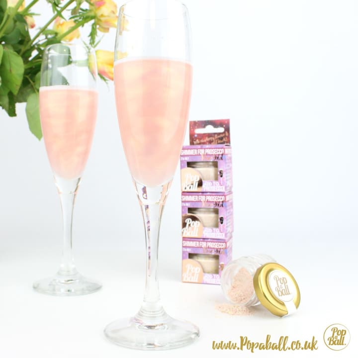 Shimmer With Bubbles And Vodka Gift Set - Spirits