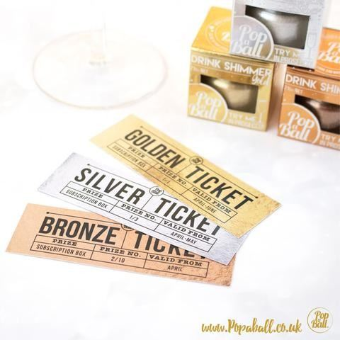 Golden ticket Giveaway