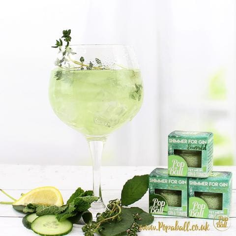Cucumber shimmer for gin
