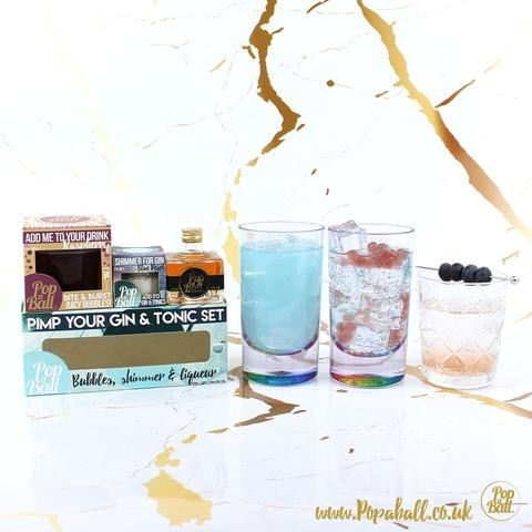 Popaball pimp your gin gift box