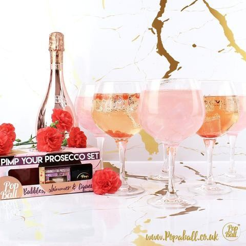 Popaball pimp your prosecco gift box