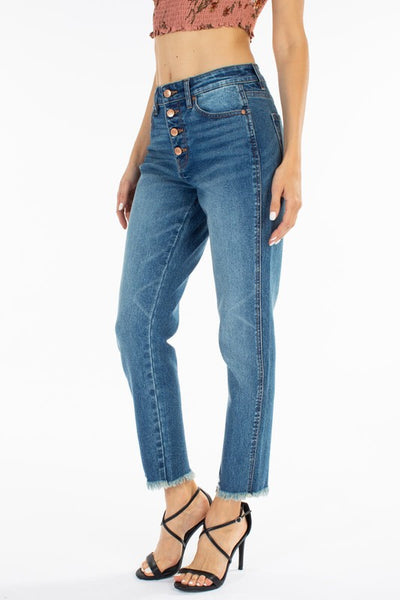 Gemma High Rise Ankle Skinny - KC7291M