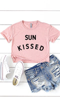 Sun Kissed Cropped Tee