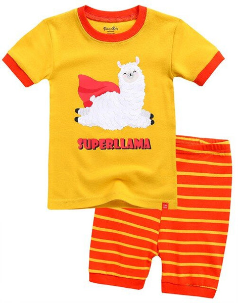 Super Llama Short Sleeve Pajamas
