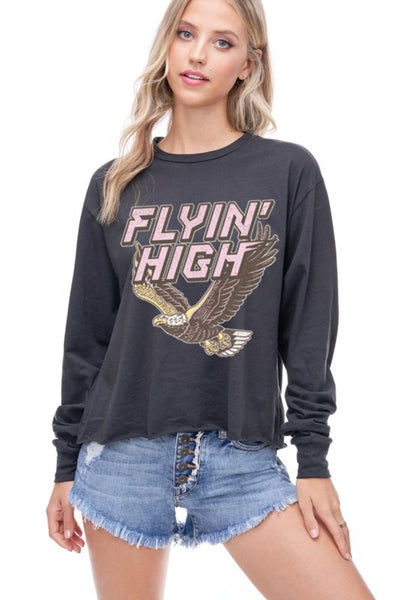 Flyin' High longsleeve tee