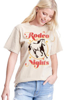 Rodeo Nights graphic tee