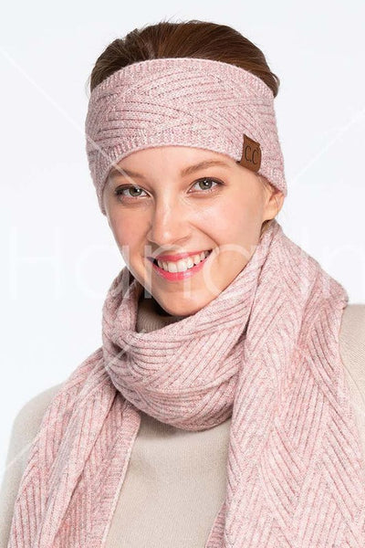 CC diagonal stripes criss cross pattern headwrap