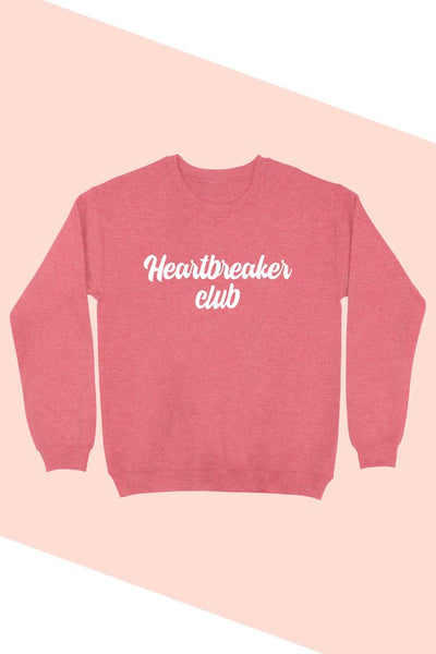 HEARTBREAKER CLUB GRAPHIC SWEATSHIRT