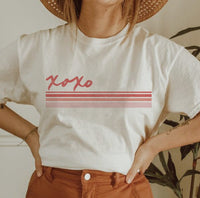 XOXO Stripes Graphic