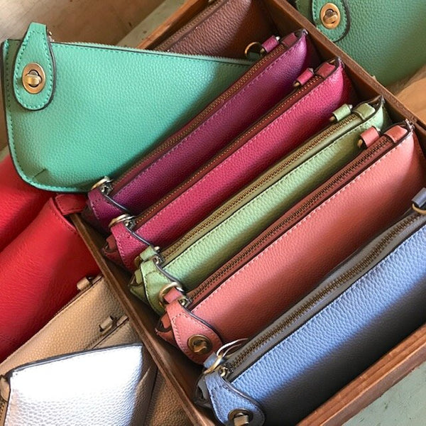 Mini Wristlet Clutch - Solids
