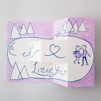 Lov Card I Love You Skaters