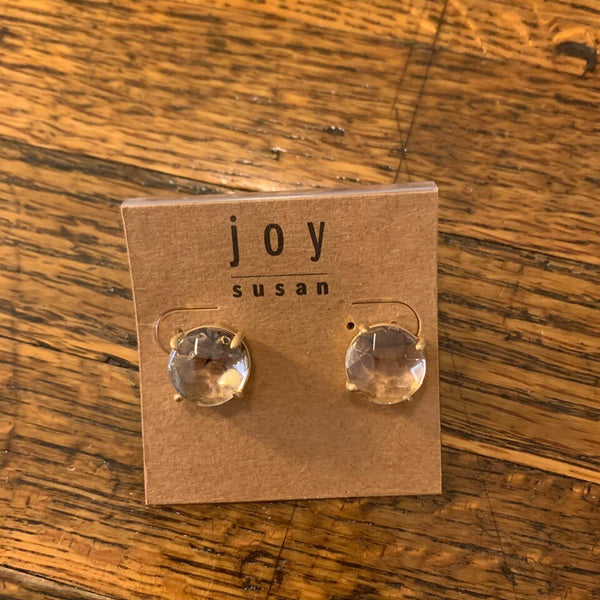 Natural Stone Post Earrings