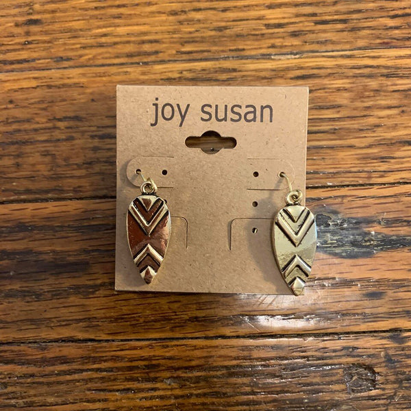 Spear Tip Earrings
