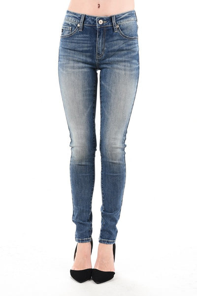 Non-distressed Jeans - KC7085CHD