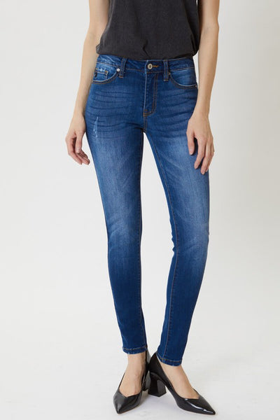 Low Rise Basic Super Skinny Jeans - KC7095GT
