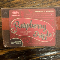 Raspberry Drizzle Chocolate Soap