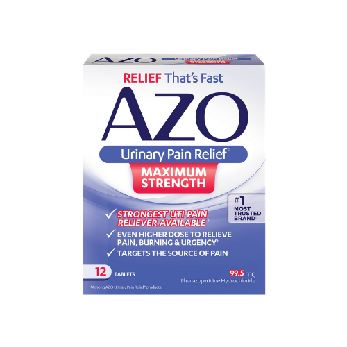 Azo Urinary Pain Relief Max 12 ct